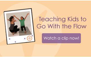 watch clip teaching kids yoga